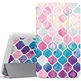 MoKo Samsung Galaxy Tab A 7.0 Case - Ultra Lightweight Slim-shell Stand Cover Case for Samsung Galaxy Tab A 7.0 Inch Tablet 2016 Release(SM-T280 / SM-T285), Colorful Mosaic