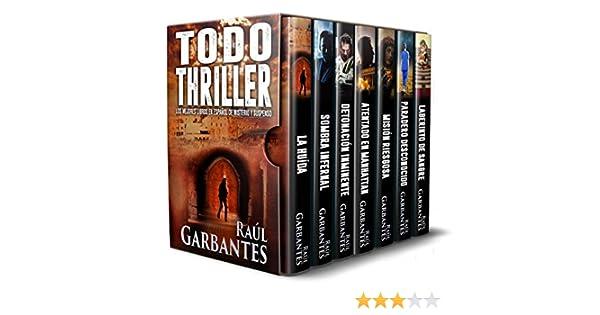 Amazon.com: Todo Thriller: Los mejores libros en español de misterio y suspenso (Spanish Edition) eBook: Raúl Garbantes: Kindle Store