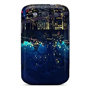 New Fashionable NikRun JFTIs560mcRAY Cover Case Specially Made For Galaxy S3(hemisphere At Night)