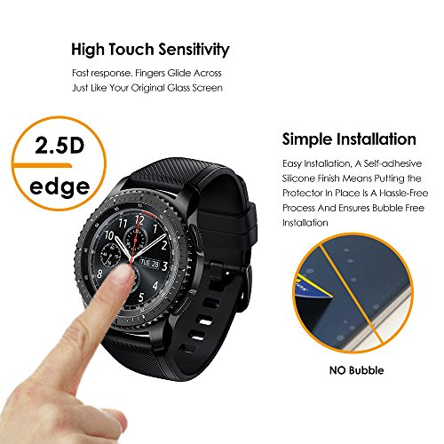 Samsung Gear S3 Classic / Frontier Screen Protector [2 ...