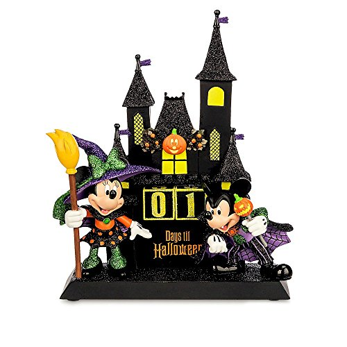 Disney Minnie and Mickey Mouse Sculpted Halloween Countdown Calendar ()