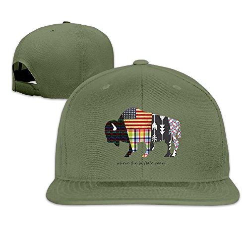 hello-robott-adult-american-flags-design-buffalo-hat-baseball-cap-forestgreen
