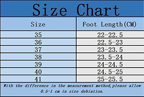 Tobillo Marrón Impermeable de Chelsea Zapatos de Agua Botas Casual Boot Lluvia Botas Mujer Xinwcang wCAqzOc