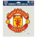 Wincraft Soccer Manchester United Perfect Cut Color Decal, 8-Inchx8-Inch