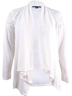 Tommy Hilfiger solid pink eyelet off shoulder blouse plus size 1X