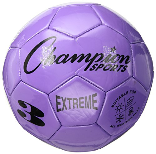 Champion Sports Extreme Series Composite Soccer Ball: Sizes three, four, & 5 in Multiple Colors – DiZiSports Store