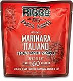 RIGGO Pasta Spaghetti Sauce - 8 Keto Tomato Sauce Packets with Gourmet Italian Flavors (2 Servings Marinara Italiano)