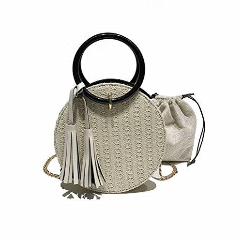 Minions Boutique - Bolso mochila para mujer amarillo talla única Blanco