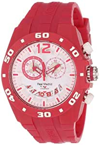 Viceroy Women's Real Madrid Sports Plastic Magenta Rubber Date Watch - Red