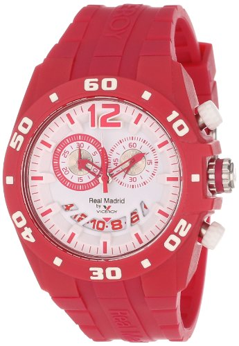 Viceroy Women's 432853-75 Real Madrid Sports Plastic Magenta Rubber Date Watch