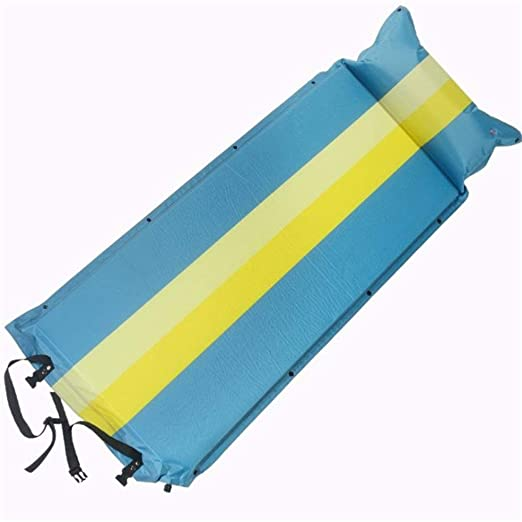 Colchonetas De Camping Impermeable inflable con almohada adjunta ...