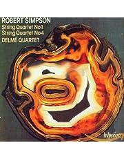 Simpson: String Quartets 1 & 4