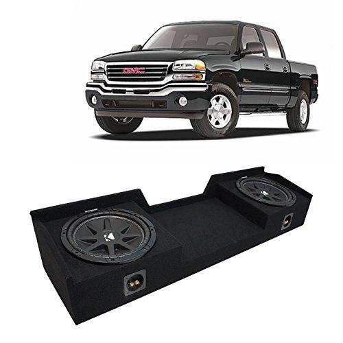 American Truck Boxes - Fits 1999-2006 GMC Sierra Ext Cab Truck Kicker Comp C12 Dual 12