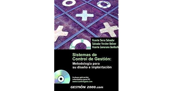 Amazon.com: SISTEMAS DE CONTROL DE GESTION: METODOLOGIA PARA ...