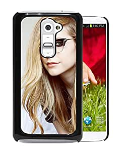 Geeky Avril Lavigne Durable High Quality LG G2 Phone Case