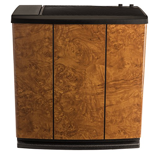 AIRCARE H12-400HB 3-Speed Whole-House Console-Style Evaporative Humidifier, Oak Burl (Best Whole Room Humidifier)