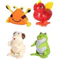 Toyvian Juguetes de Cuerda Saltar Diseño de Animal