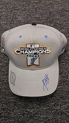 Miguel Cabrera Ws Champions 2003 Signed Baseball Hat - JSA CertifiedMarlins - MLB Baseball Autographs