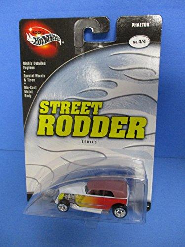 2002 100% Hot Wheels Street Rodder series Phaeton White