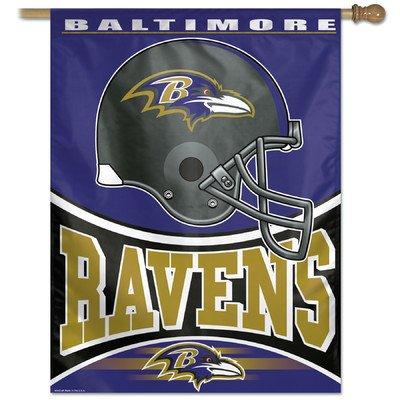 Wincraft NFL Flag Team: Baltimore Ravens