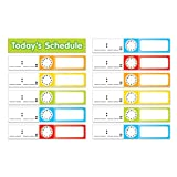 TEACHERS FRIEND SCHEDULE CARDS POCKET CHART ADD ONS (Set of 12)