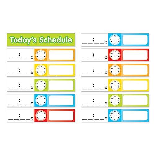 TEACHERS FRIEND SCHEDULE CARDS POCKET CHART ADD ONS (Set of 12) by TEACHERS FRIEND