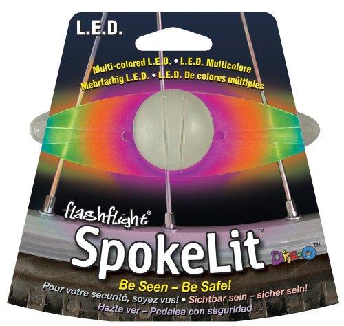Nite Ize SpokeLit LED Wheel Light Color:Disco Size:Pack of 1