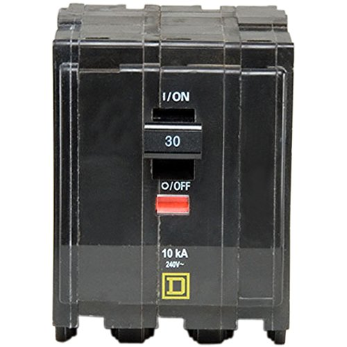 Square D by Schneider Electric QO330CP QO 30 Amp Three-Pole Circuit Breaker, , by Square D by Schneider Electric