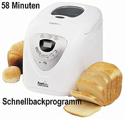 Para hacer pan Morphy pan panadero casi bake 58 min 48280. El pan se prepara