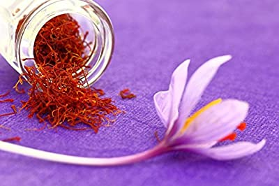 100% Pure Premium Saffron Extract - Satiereal Saffron Extract - Natural Appetite Suppressant, 60 Capsules - One Month Supply
