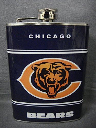 chicago bears flask - 5