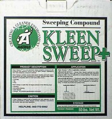 (COMPOUND SWEEP 50# BAG by KLEEN SWEEP+ MfrPartNo 1812)