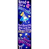 EUREKA ALICE IN WONDERLAND RIGHT DIRECTION (Set of 24)