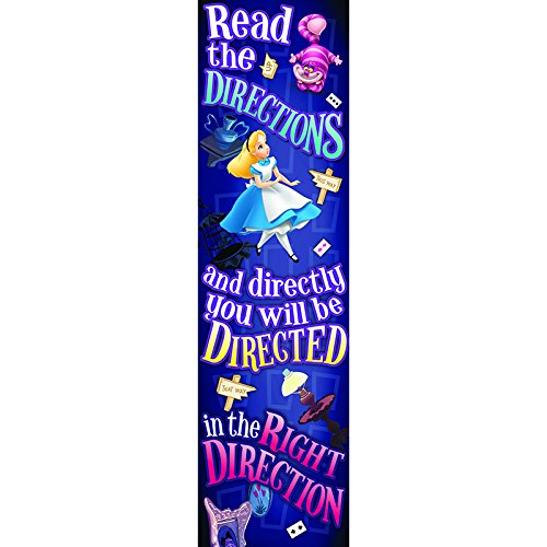 EUREKA ALICE IN WONDERLAND RIGHT DIRECTION (Set of 24) by Eureka