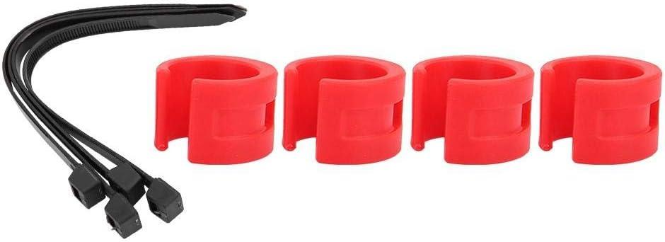 Anillo de goma de protección de cadena de bicicleta, 4 piezas ...