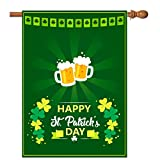 st patricks outdoor flags - St Patricks Day Garden/House Flag 28
