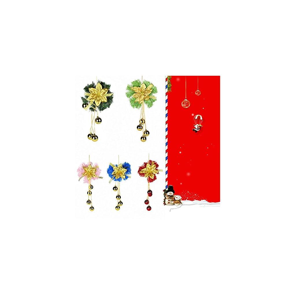 Convinced-Halloween-Door-DecorHome-Dcor-ProductsDoor-Hanging-Christmas-Wreath-Handmade-Sunflower-Decor