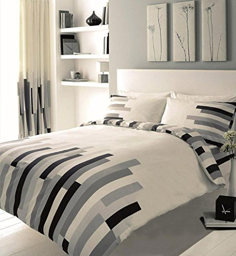 Gaveno Cavailia Luxury BLOCKS Bed Set With Duvet Cover and Pillow Case,...
