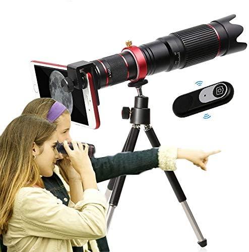 Lente de la cámara 4K HD 36X óptico el Lente del telescopio del teléfono móvil para iPhone 11 Smartphone Celular: Amazon.es: Hogar