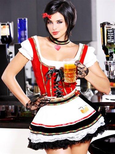 Beer Babe Adult Costume - Medium/Large