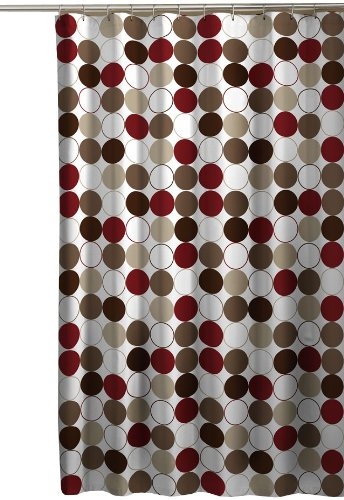 Polka Dot Shower Curtain | WebNuggetz.com