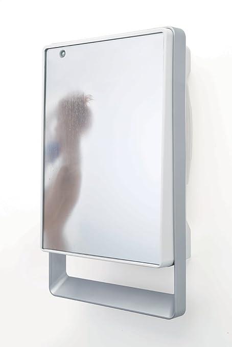 Aurora Folio Visio 813350 - Secador de toallas, termoventilador con frontal de espejo, NF