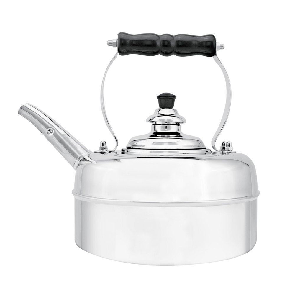 Richmond Heritage No. 2 Chrome Plated Solid Copper Kettle