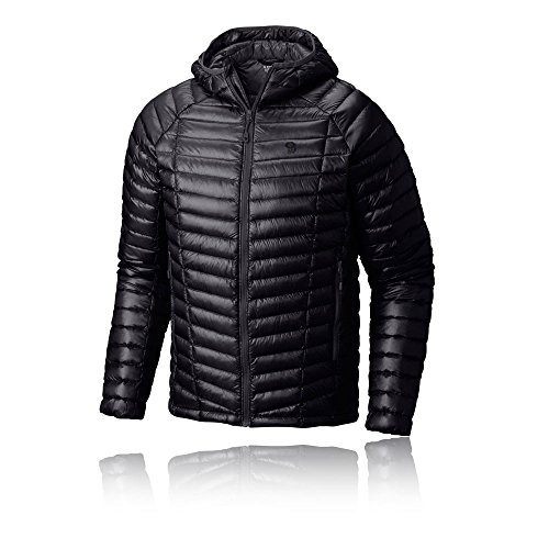 Mountain Hardwear Men's Ghost Whisperer Hooded Down Jacket, Black, ()