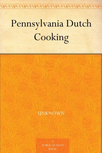 (Pennsylvania Dutch Cooking )