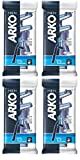 Arko Men T2 Twin Blade Disposable Shaving Razor, 4 Count (Pack of 3)