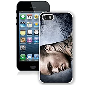 Customized Apple iPhone 5S Case Wwe Superstars Collection Wwe 2k15 Randy Orton 08 in White Phone Case For iPhone 5S Case
