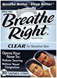 Breathe Right, Nasal Strips, Sm/Med, 30 Strips
