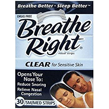 Breathe right strips for nasal congestion