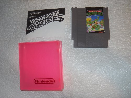 (NES Teenage Mutant Ninja Turtles Video Game -)